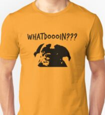 Moose - What Doing? Dog T-Shirt