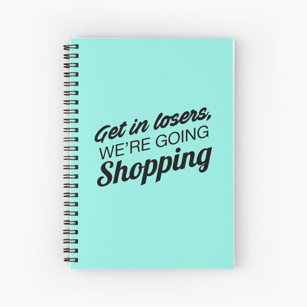 Mean Girls: Consiga en los perdedores, fueron yendo de compras Cuaderno de espiral