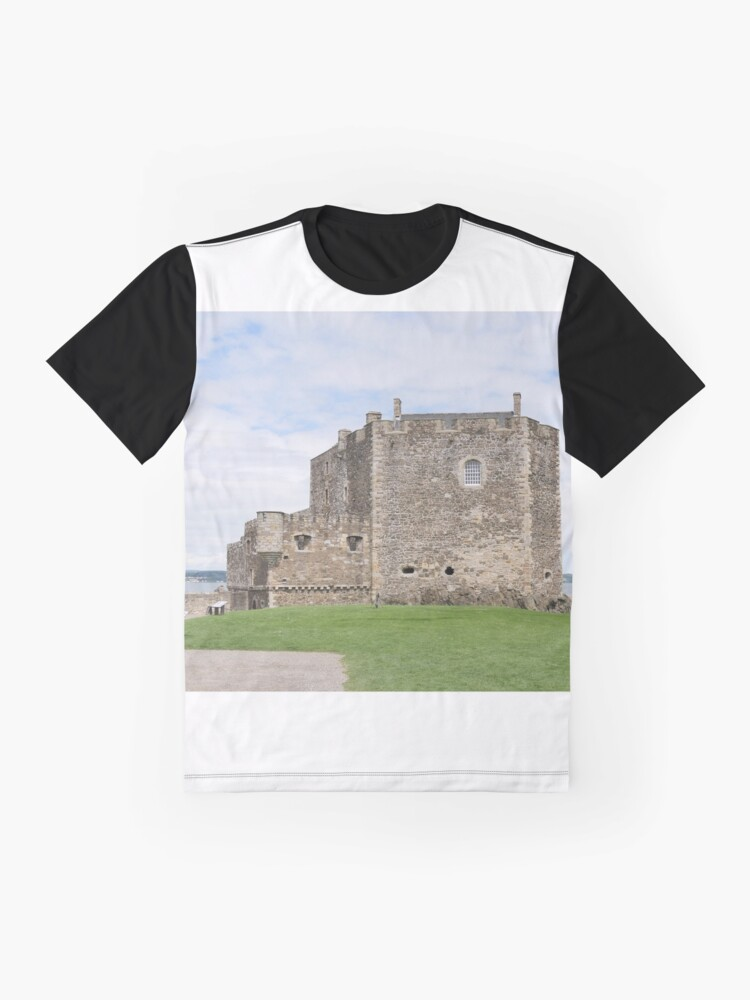 Alternate view of Blackness Castle ,( Fort George in Outlander )  Scotland Graphic T-Shirt