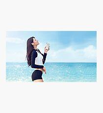 Seolhyun - Music Photographic Print