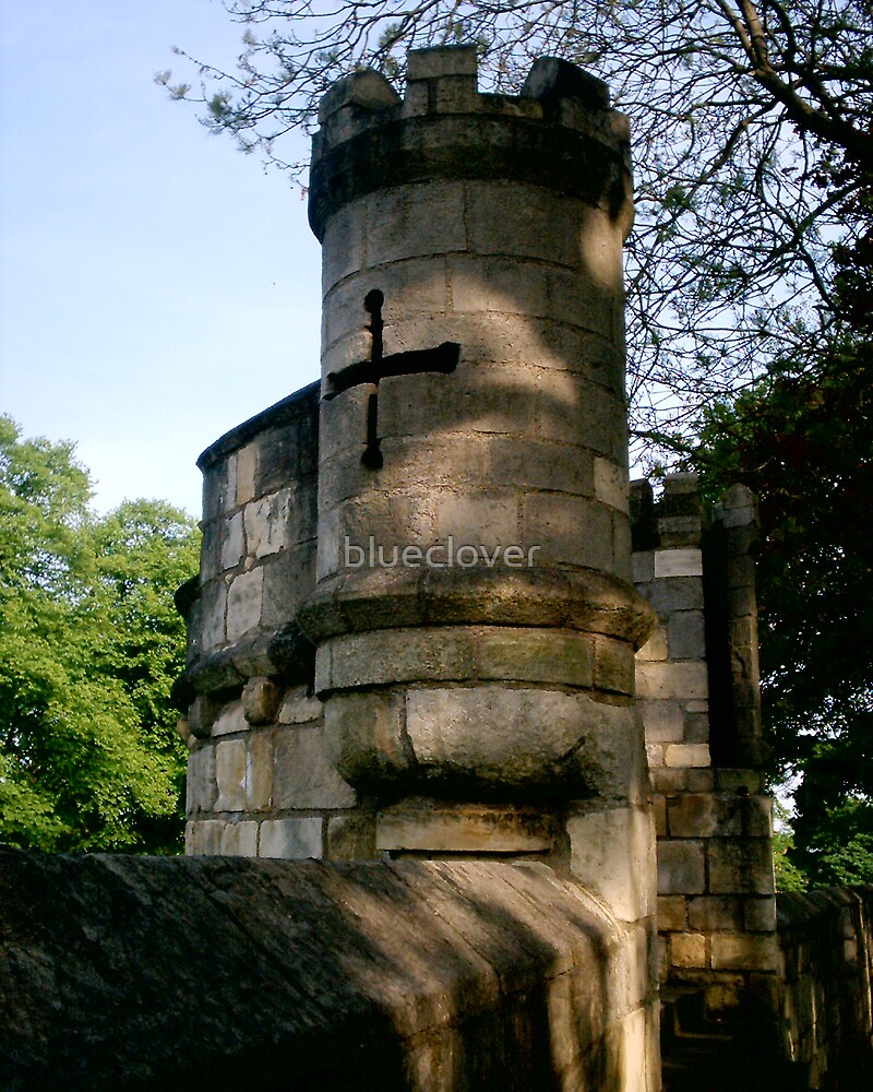 Turrets on York City Walls by blueclover