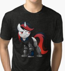 Determined Blackjack T-shirt (from the Project Horizons fanfic) Tri-blend T-Shirt