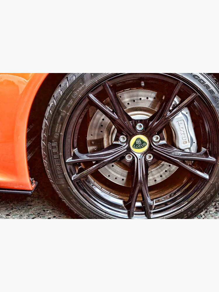 Lotus Sports Car Wheel by robcole