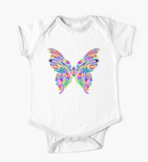 Bright and Colorful Abstract Butterfly Art Kids Clothes