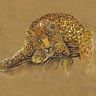 Swirly Leopard by . VectorInk