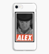 -MOVIES- Alex Delarge iPhone Case/Skin