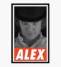 -MOVIES- Alex Delarge Photographic Print