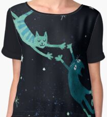 Lovecats Women's Chiffon Top