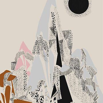 Dusty Mountain by FLATOWL