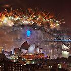 Sydney Fireworks 2014 by Dianne English