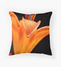 Orange DayLily    ^ Throw Pillow