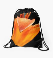 Orange DayLily    ^ Drawstring Bag