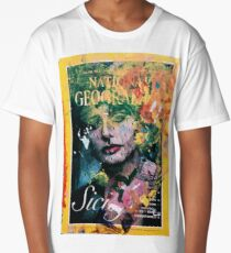 Painted Geography Long T-Shirt