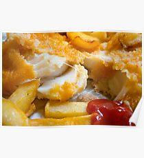 Cod Chips and Ketchup  Poster
