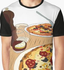 Yummy Pizza Time! Graphic T-Shirt