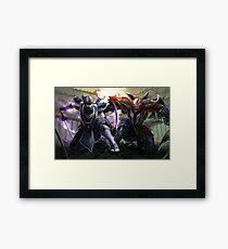 Shen&Zed - Ninja masters Framed Print