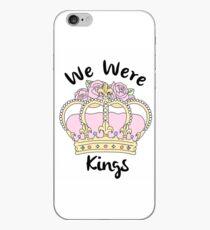 We Were Kings iPhone Case