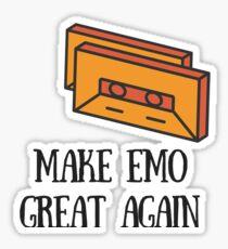 Make Emo Great Again! Sticker