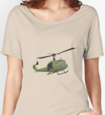 UH-1 Huey helicopter Women's Relaxed Fit T-Shirt