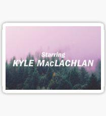 Twin Peaks: The Return - Starring Kyle MacLachlan Sticker