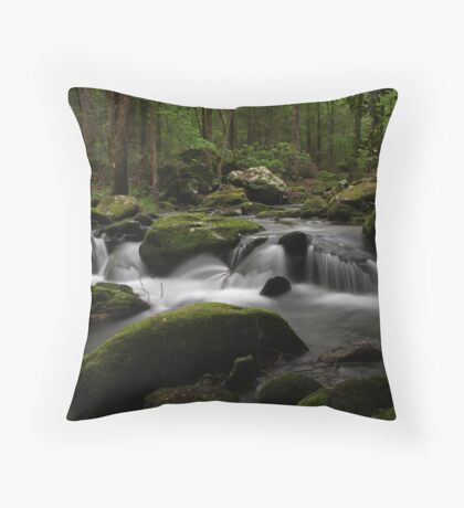 Paradise in the Mountains Throw Pillow