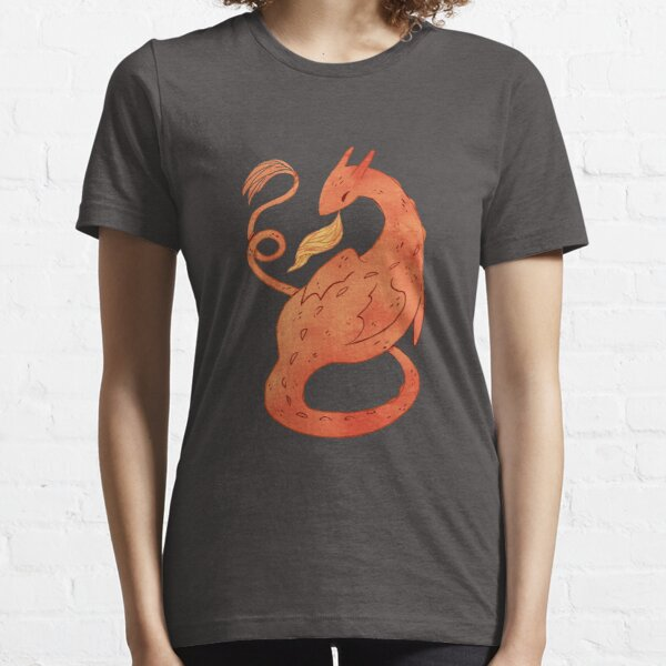 Orange Dragon  Essential T-Shirt