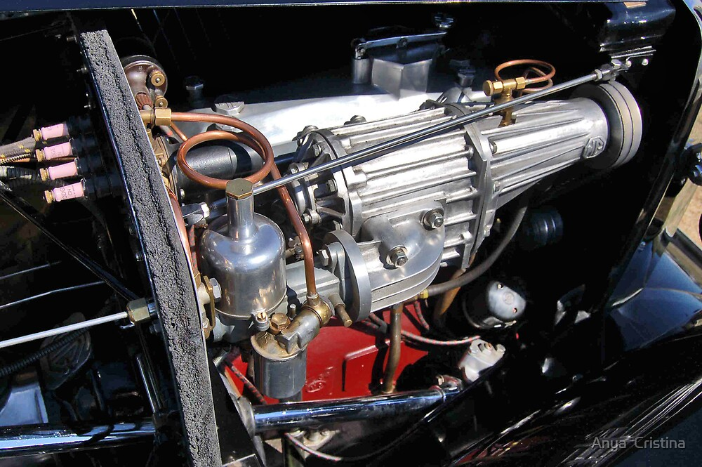 A supercharged early MG by Anya  Cristina