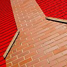 Chimney Red by Sandy  McClearn