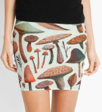 Mushroom Picking Mini Skirt