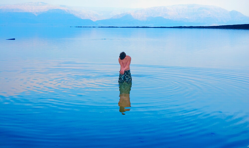 Alive @ the dead sea by Eyal Nahmias