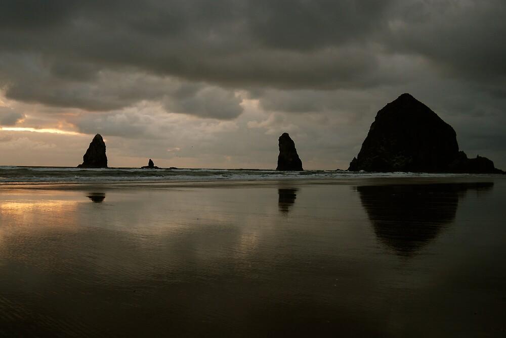 Cannon Beach Oregon by Robert Baker