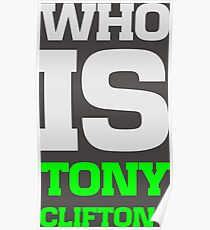 Who is Tony Clifton? Poster