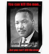 Martin Luther King: Can't Kill The Dream Poster