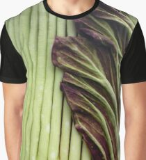 Titan Arum preparing to bloom Graphic T-Shirt