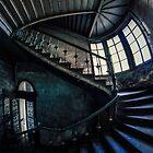 Mysterious ornamented staircase by JBlaminsky