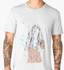 Soap bubbles Men's Premium T-Shirt