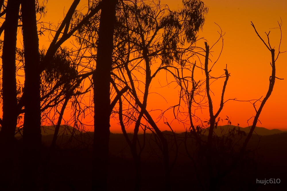sunset ahterton tablelands by hwjc610