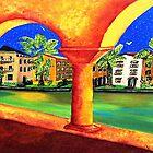 Golden Arches by WhiteDove Studio kj gordon