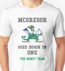 MCGREGOR GOES DOWN IN ONE Unisex T-Shirt