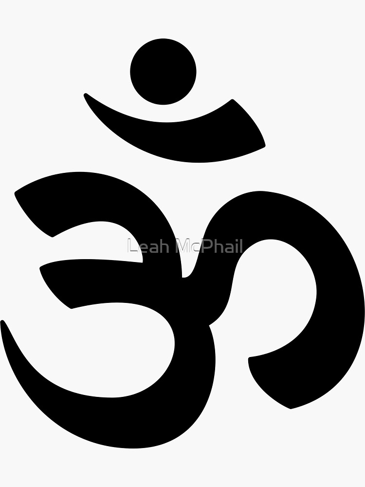 Om in Black  by LeahMcPhail
