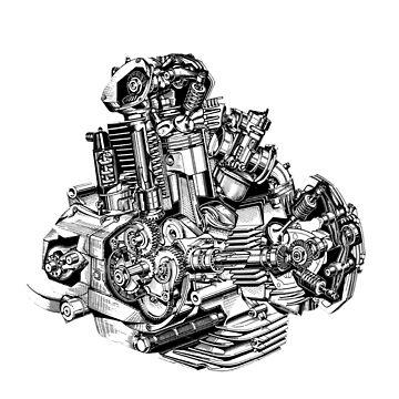 Ducati Italian Muscle by wolfman57