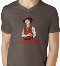 Doc Holliday - I'm your Huckleberry  Men's V-Neck T-Shirt
