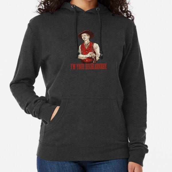 Doc Holliday - Soy tu Huckleberry Sudadera ligera con capucha