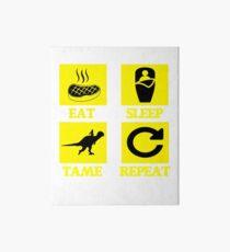 Ark Survival Evolved - EAT SLEEP TAME REPEAT  Art Board