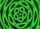 Pattern in green by missmoneypenny