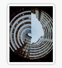 Art Deco Spiral Sticker