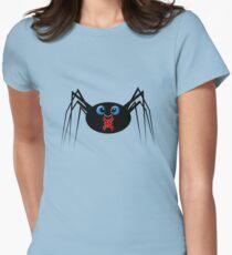 Cute Black Widow Womens Fitted T-Shirt