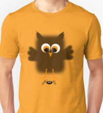 Owl-rachnophobia Unisex T-Shirt