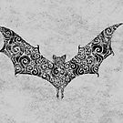 Swirly Bat by . VectorInk