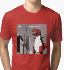 PENGUINOSARUS REX™ INVADES NEW YORK Tri-blend T-Shirt